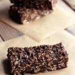 Chocolate Peanut Butter Road Trip Energy Bars