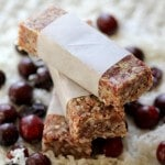 Cranberry Coconut Raw Bars