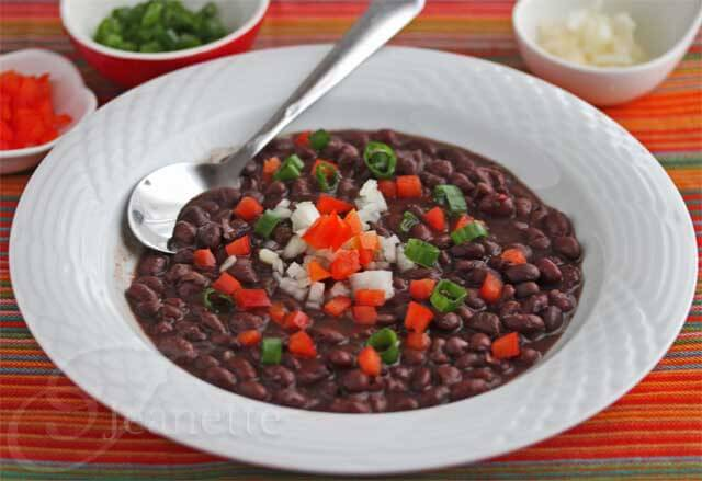 Cuban Black Bean Soup (Frijoles Negros)  Jeanette's Healthy Living