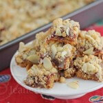 Gluten Free Raspberry Almond Bars  Jeanette&#039;s Healthy Living