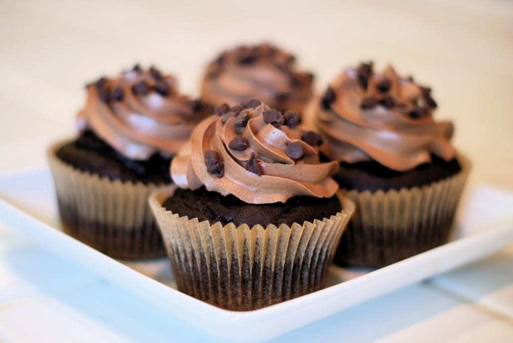 Chocolate Cupcakes from Sarah Bakes Gluten-Free Treats
