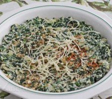 Skinny Hot Spinach and Artichoke Dip  Jeanette&#039;s Healthy Living