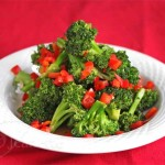 Stir Fry Broccoli and Red Peppers  Jeanette&#039;s Healthy Living