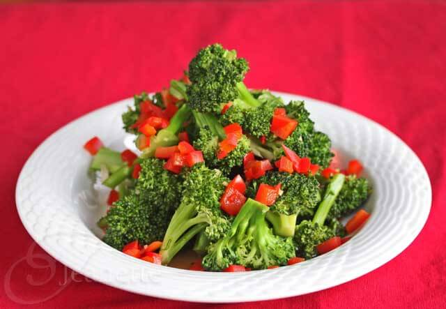 Sauteed Broccoli and Red Bell Pepper Recipe
