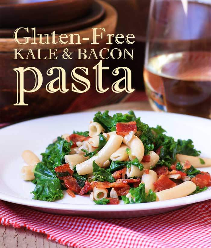 Kale and Bacon Pasta