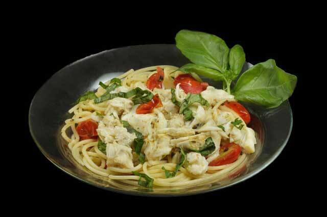 Spaghetti with Jumbo Lump Crabmeat by Chef Dennis