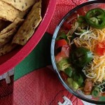 9 Layer Super Bowl Dip © Jeanette's Healthy Living