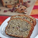 Banana Pecan Cranberry Bread  Jeanette&#039;s Healthy Living