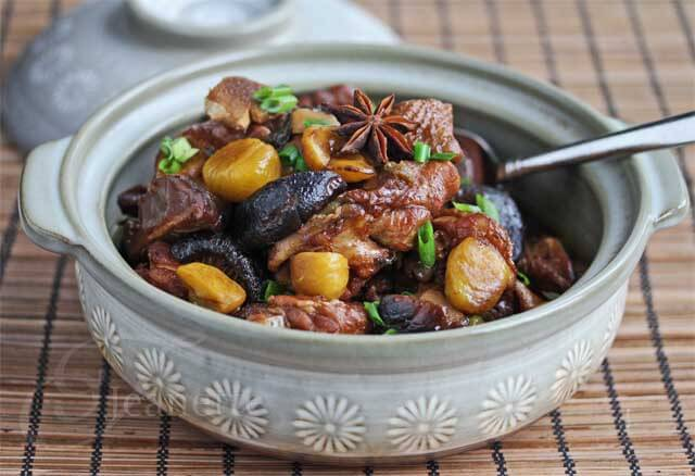 Chinese Braised Chicken with Chestnuts Recipe - Jeanette's Healthy ...