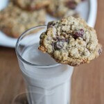 Healthy Chocolate Cranberry Walnut Cookies © Jeanette's Healthy Living
