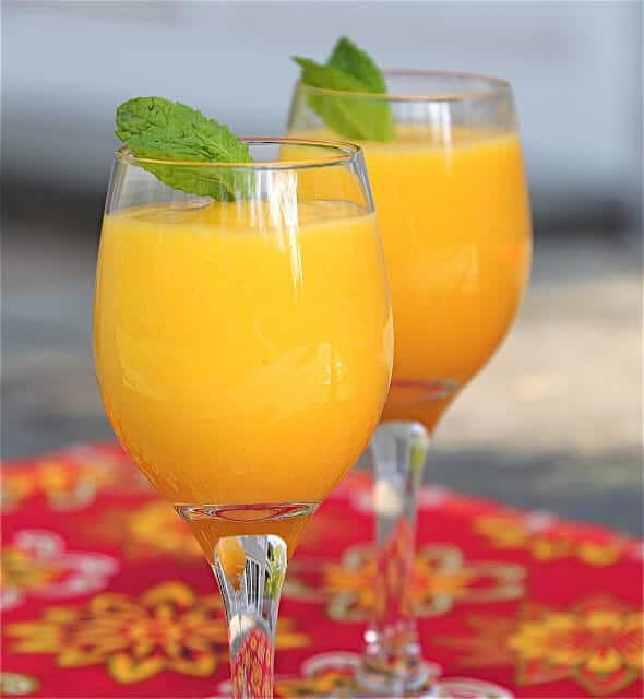 Mango Pineapple Coconut Water Smoothie Recipe