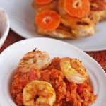 Jollof Rice with Shrimp © Jeanette's Healthy Living