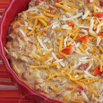 Skinny Hot Philly Cheesesteak Dip  Jeanette&#039;s Healthy Living