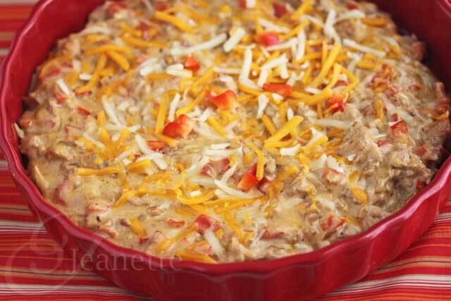 Skinny Hot Philly Cheesesteak Dip  Jeanette's Healthy Living