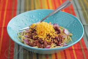 Slow Cooker Skyline Cincinnati Chili © Jeanette's Healthy Living