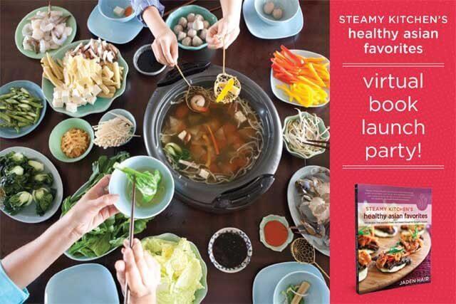 Steamy Kitchen virtual book launch