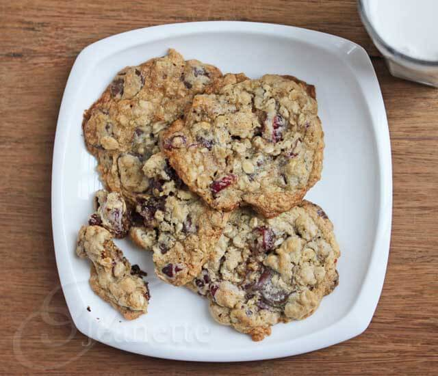 Chocolate Cranberry Walnut Cookie