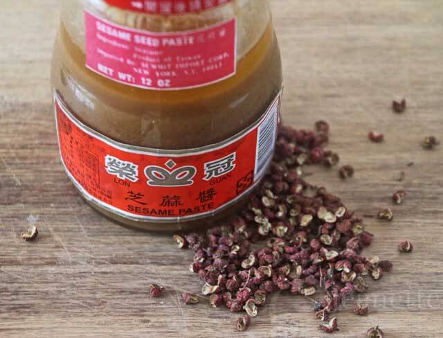 Sesame Paste and Szechuan Peppercorns