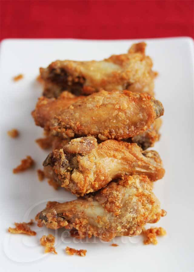 Pics For > Fried Chicken Wings And French Fries
