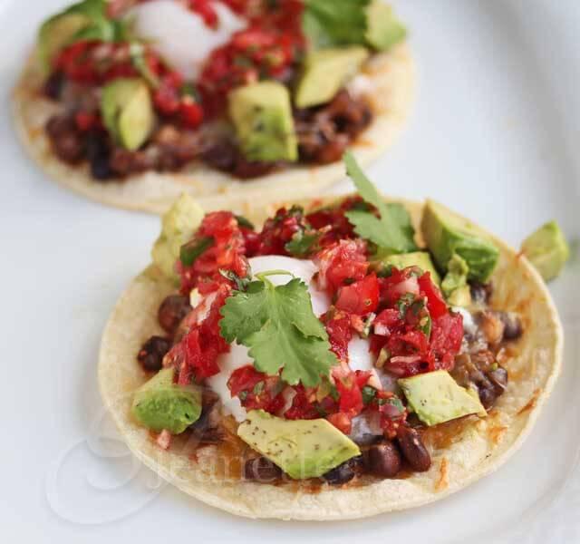 Huevos Rancheros Breakfast Taco © Jeanette's Healthy Living