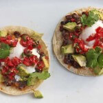 Huevos Rancheros Breakfast Tacos  Jeanette&#039;s Healthy Livings