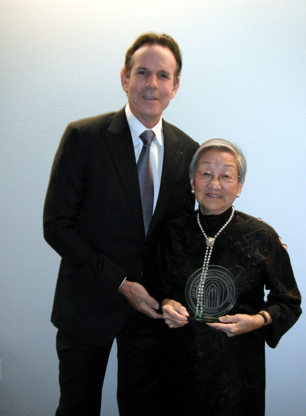 Florence Lin Wins IACP Milestone Award