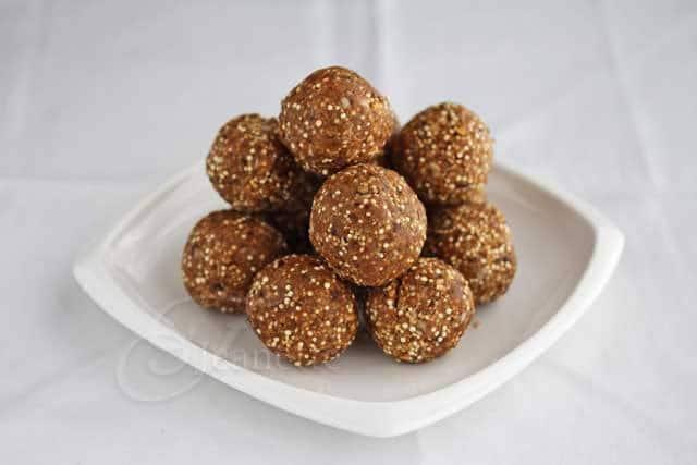 Quinoa Muesli Date Plum Truffle Energy Balls © Jeanette's Healthy Living