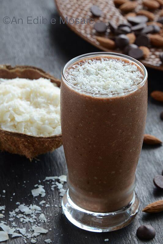 Almond+Joy Smoothie