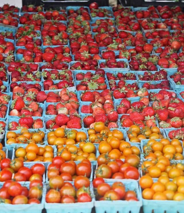 Riverbank Farm Tomatoes Strawberries