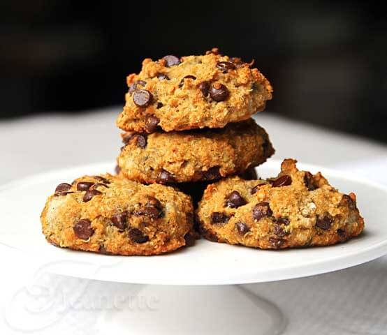 Quinoa Banana Chocolate Chip Cookies_vegan