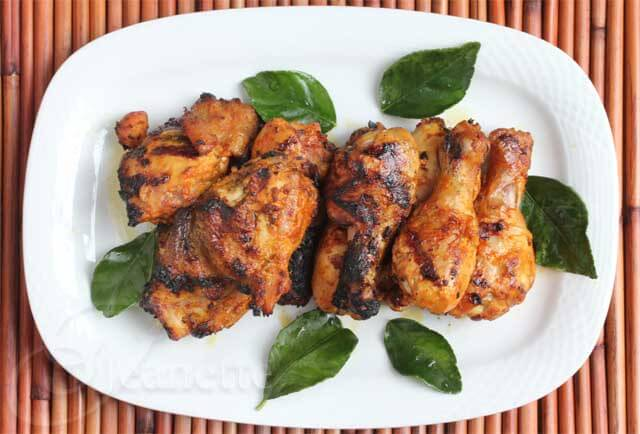 Smoked Red Curry Coconut Chicken Marinated in Greek Yogurt Recipe