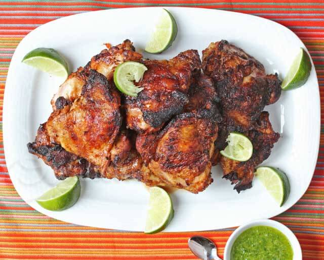 Smoked Peruvian Chicken © Jeanette's Healthy Living