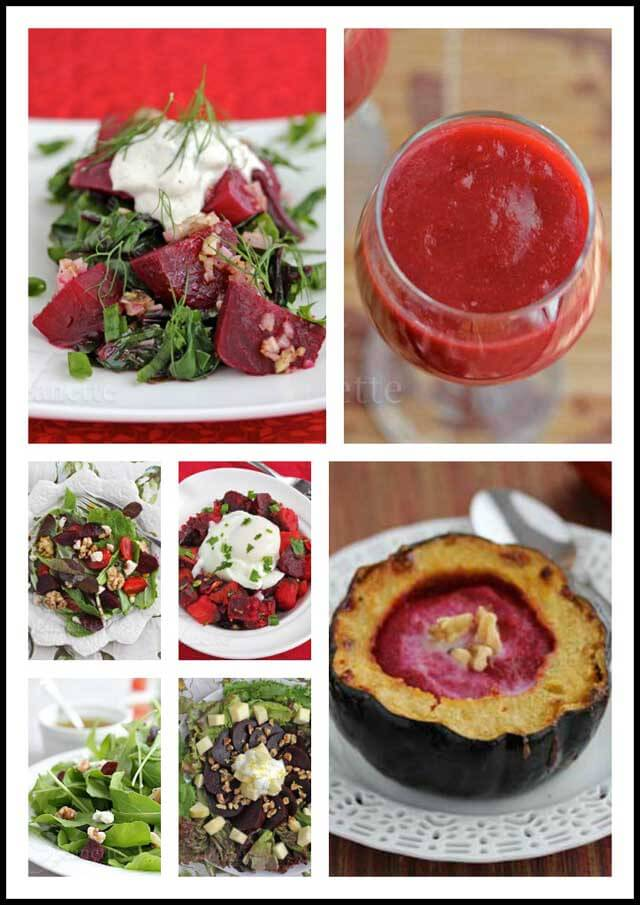 Beet Recipe Collage © Jeanette's Healthy Living