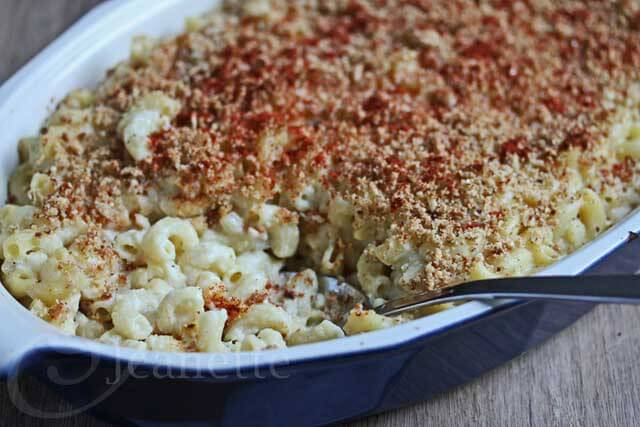 Smoked Gouda Macaroni and Chees © Jeanette's Healthy Living