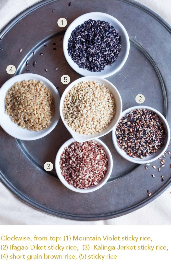 Rice Varieties from The Essential Good Food Guide