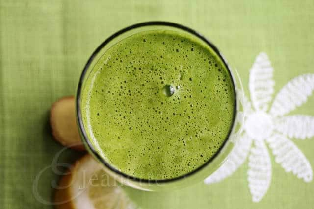 Kale Grape Ginger Lemon Juice Recipe