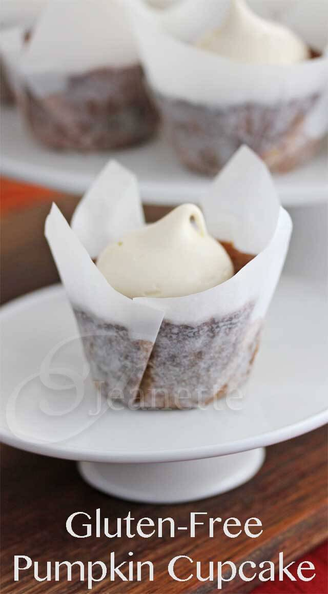 Gluten-Free Pumpkin Cupcake