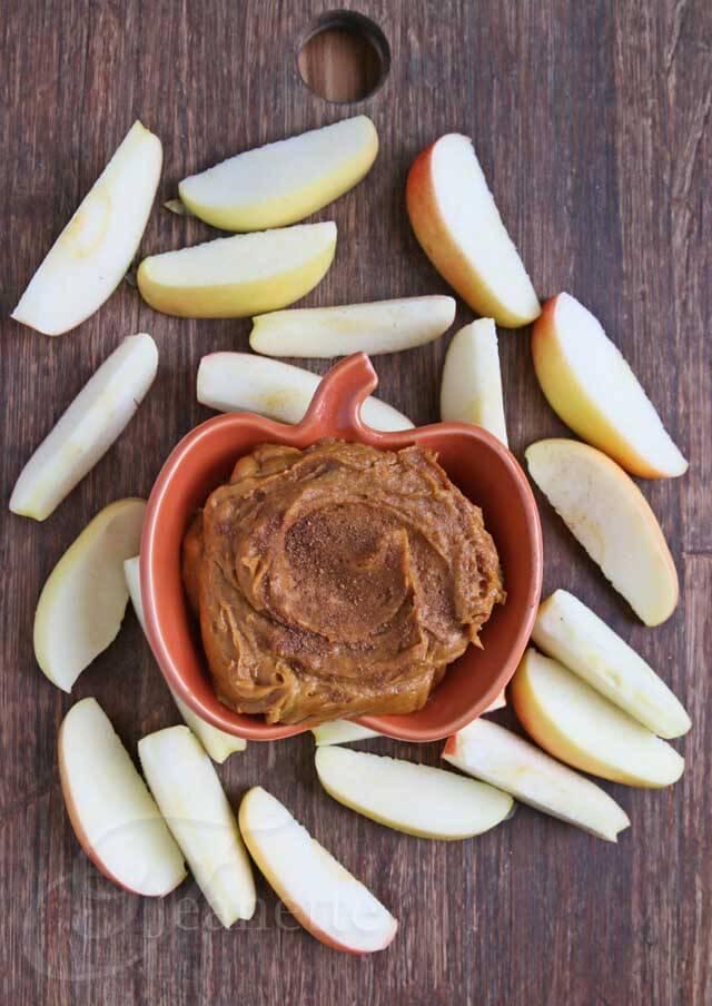 Pumpkin Peanut Butter Dip © Jeanette's Healthy Living