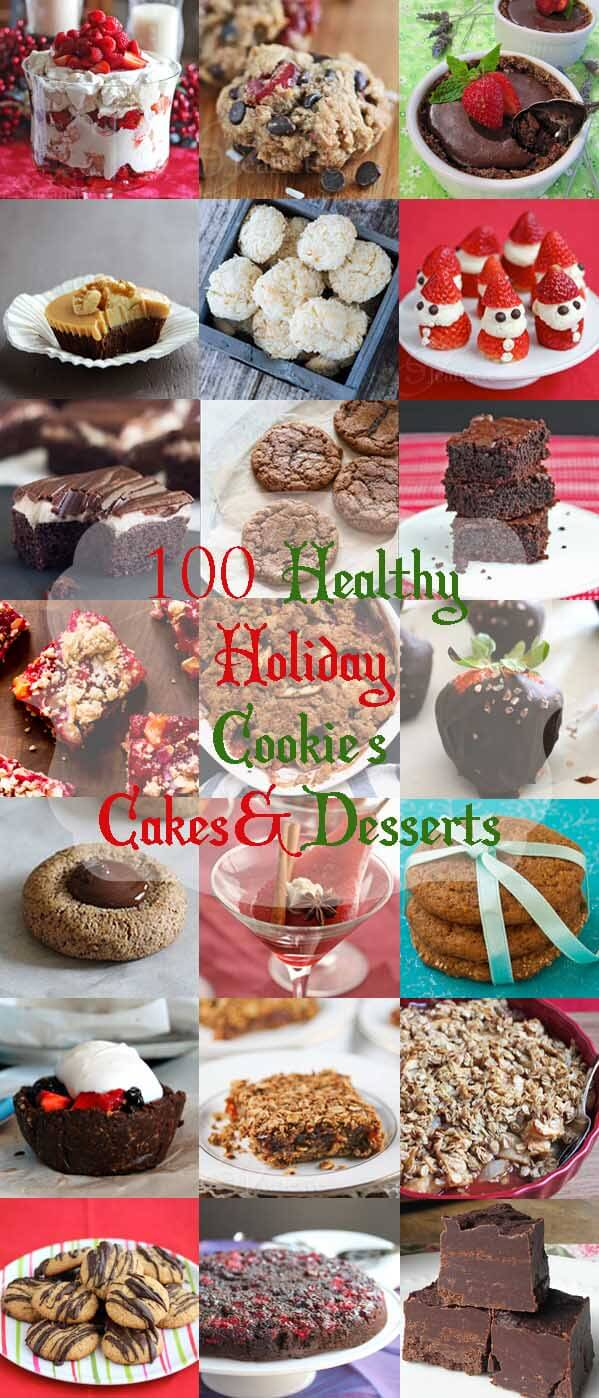 100+ Healthy Christmas and Holiday Dessert Recipes