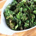 Garlic Roasted Kale © Jeanette's Healthy Living