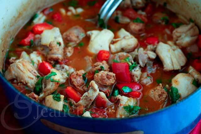 Cajun Chicken Sausage Gumbo Stew Recipe
