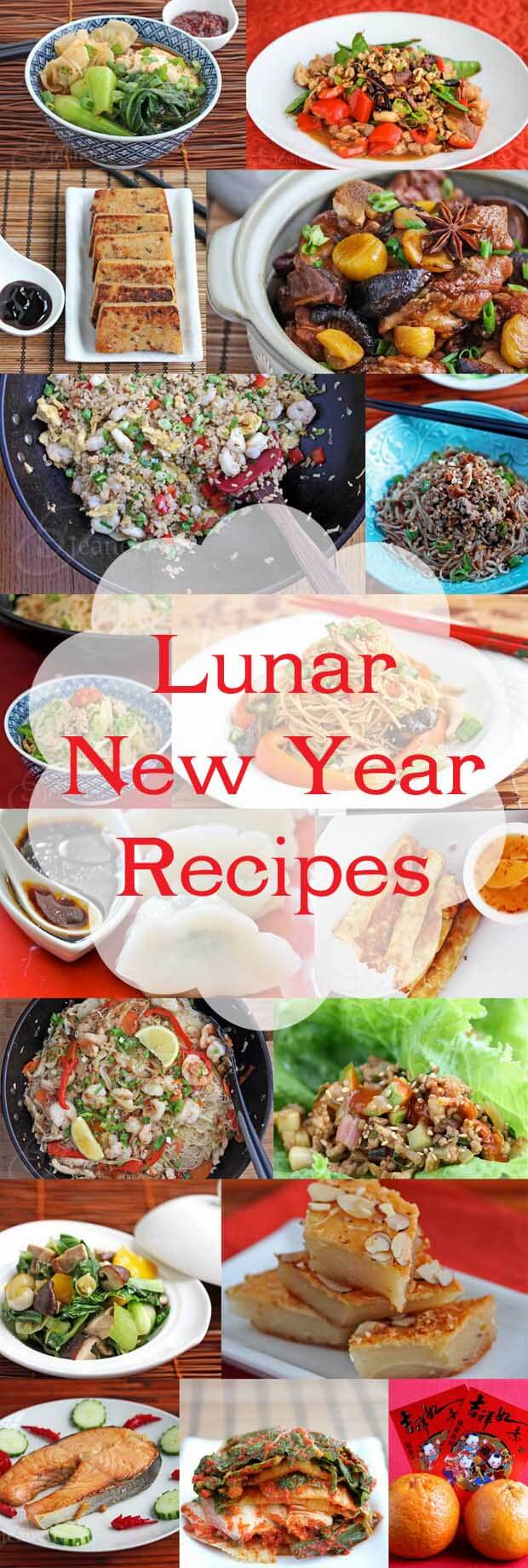 20+ Lunar and Chinese New Year Recipes