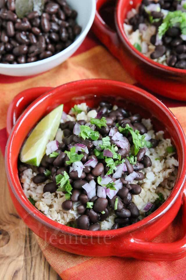 Slow Cooker Chipotle Style Black Beans Recipe - Jeanette's Healthy ...