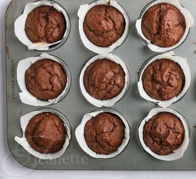 Gluten-Free Triple Chocolate Muffins