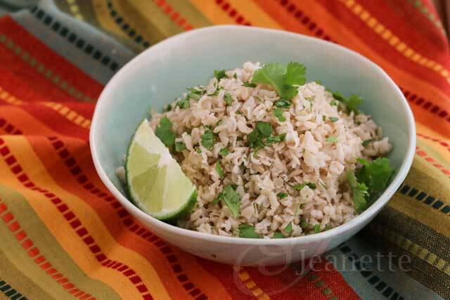 Chipotle Style Cilantro Lime Brown Rice Recipe