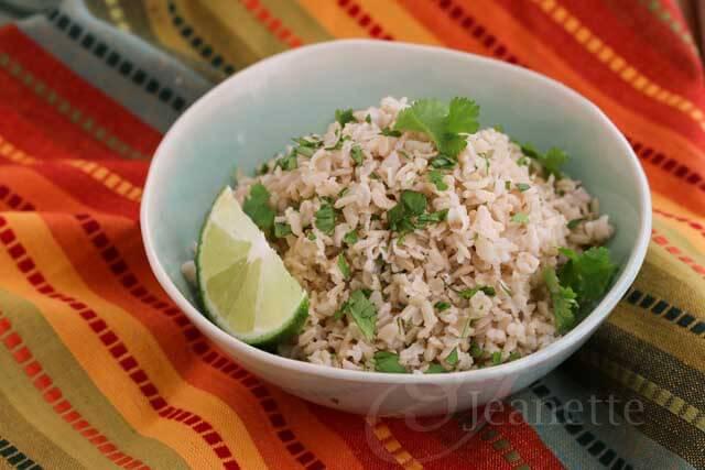 Chipotle Style Cilantro Lime Brown Rice Recipe - Jeanette's Healthy ...