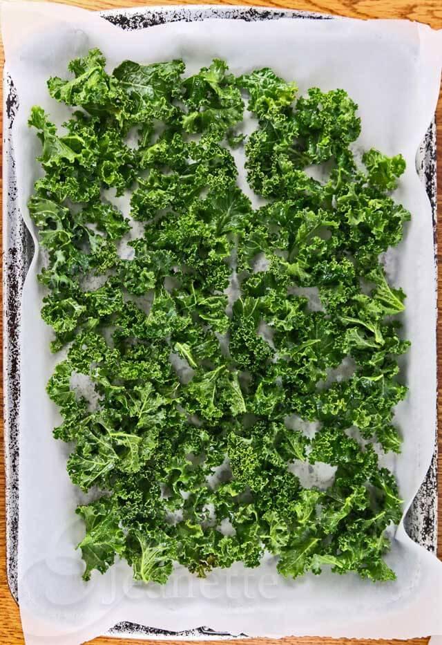 Garlic Kale Ready To Roast