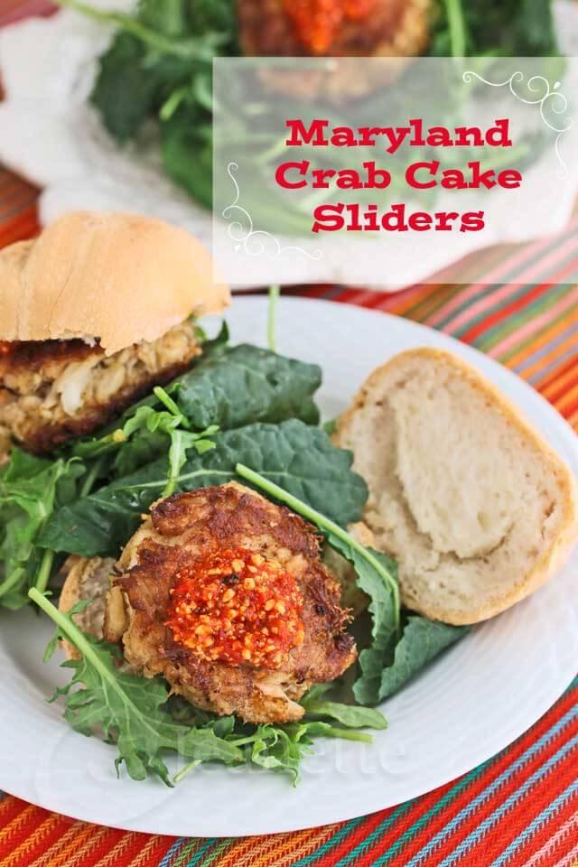 Mini crab cake sliders recipe