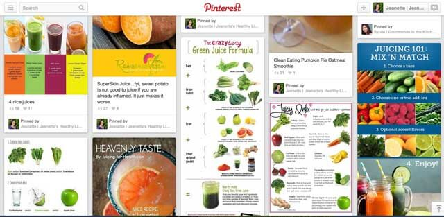 Smoothie Pinterest Board
