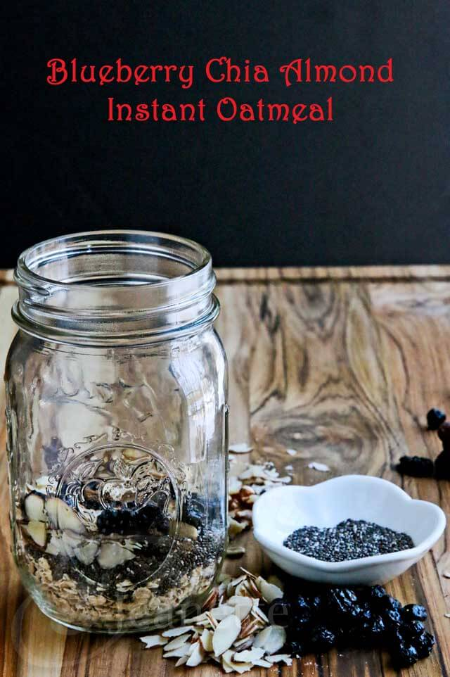 DIY Homemade Instant Oatmeal In A Jar Recipes